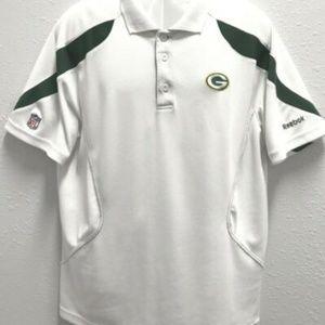 Reebok NFL Greenbay Packers Men's Polo